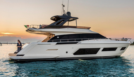 Ferretti Yachts 670 – New model