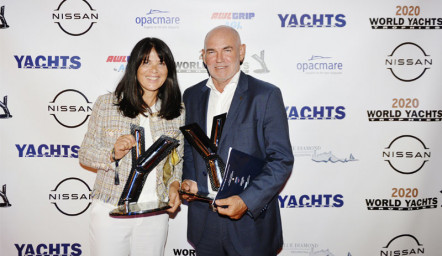 The Ferretti Group wins three trophies at the World Yachts Trophies 2020!