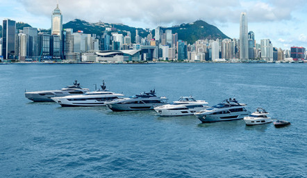 Six new awards for the Ferretti Group in Asia