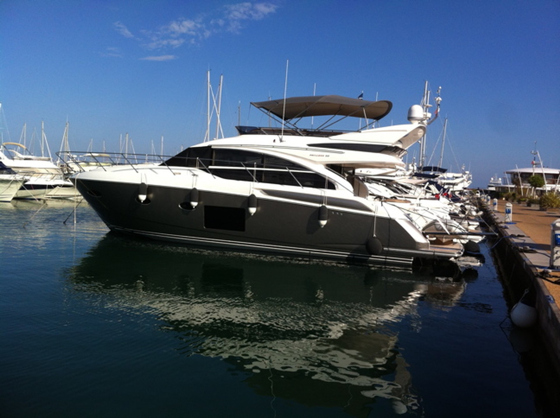 Taste The Best Of Yachting With A Used Princess Yacht