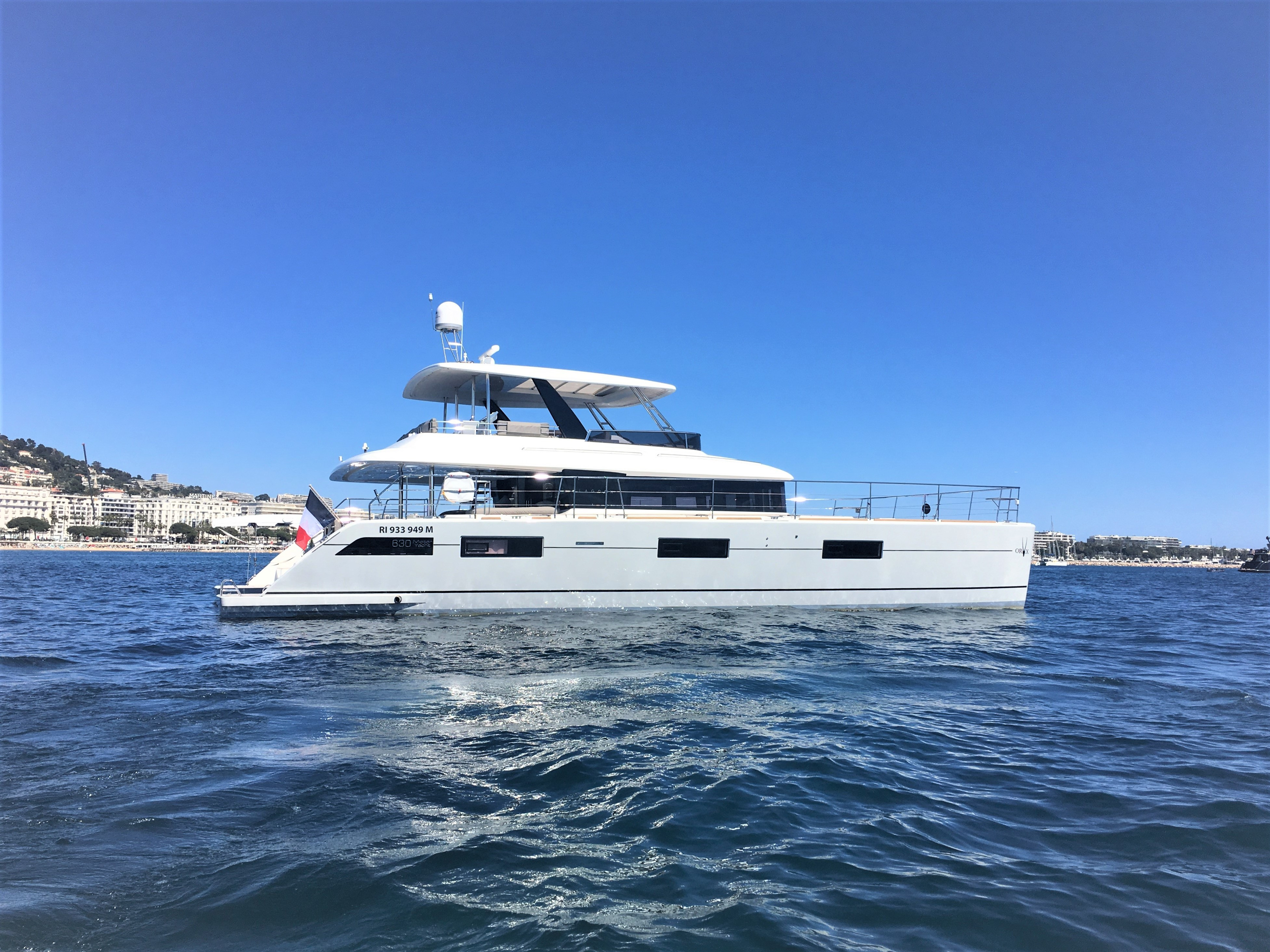 Exceptional motor catamaran Lagoon 630 is now available for bookings!