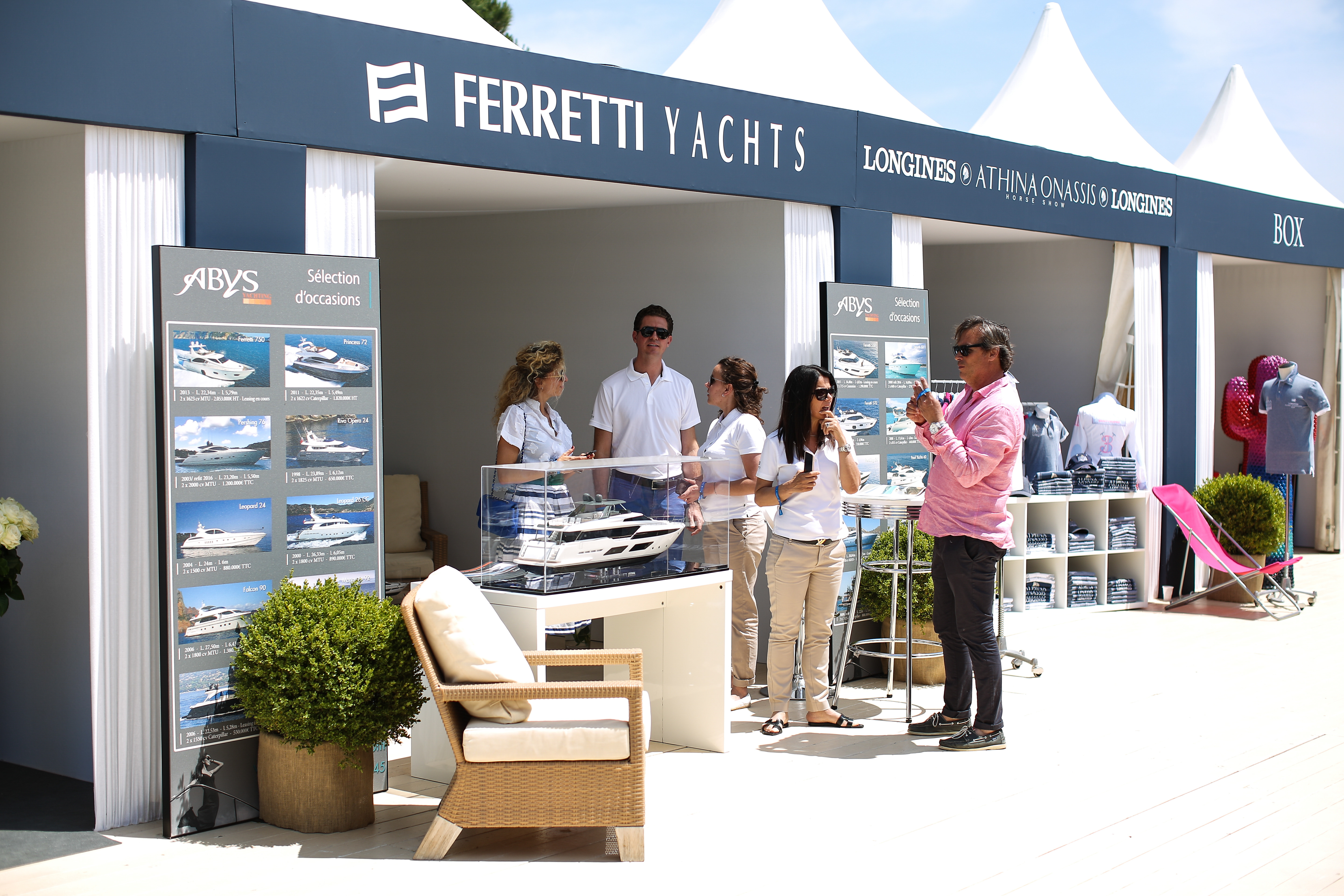 Abys Yachting, partenaire officiel du Longines Athina Onassis Horse Show